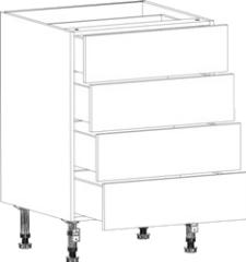 4 drawer diy kitchen cupboards