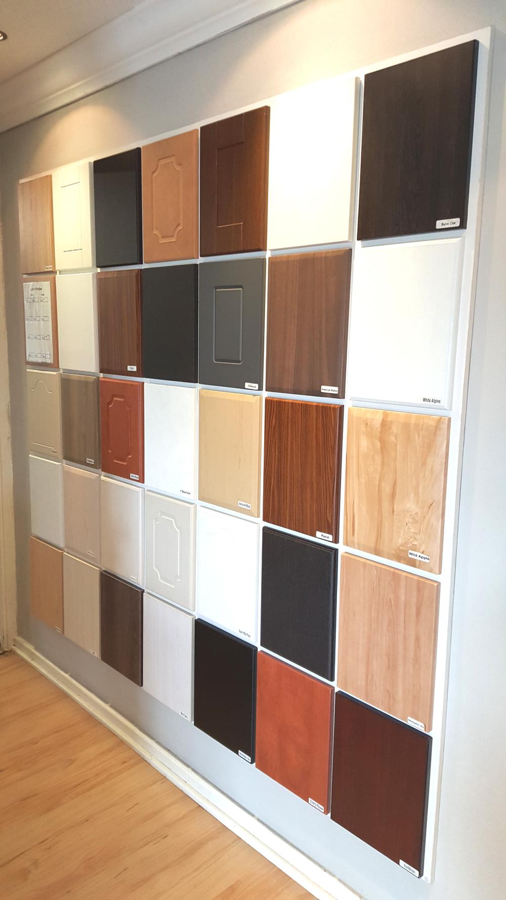PVC wrap doors - DIYcupboards.com