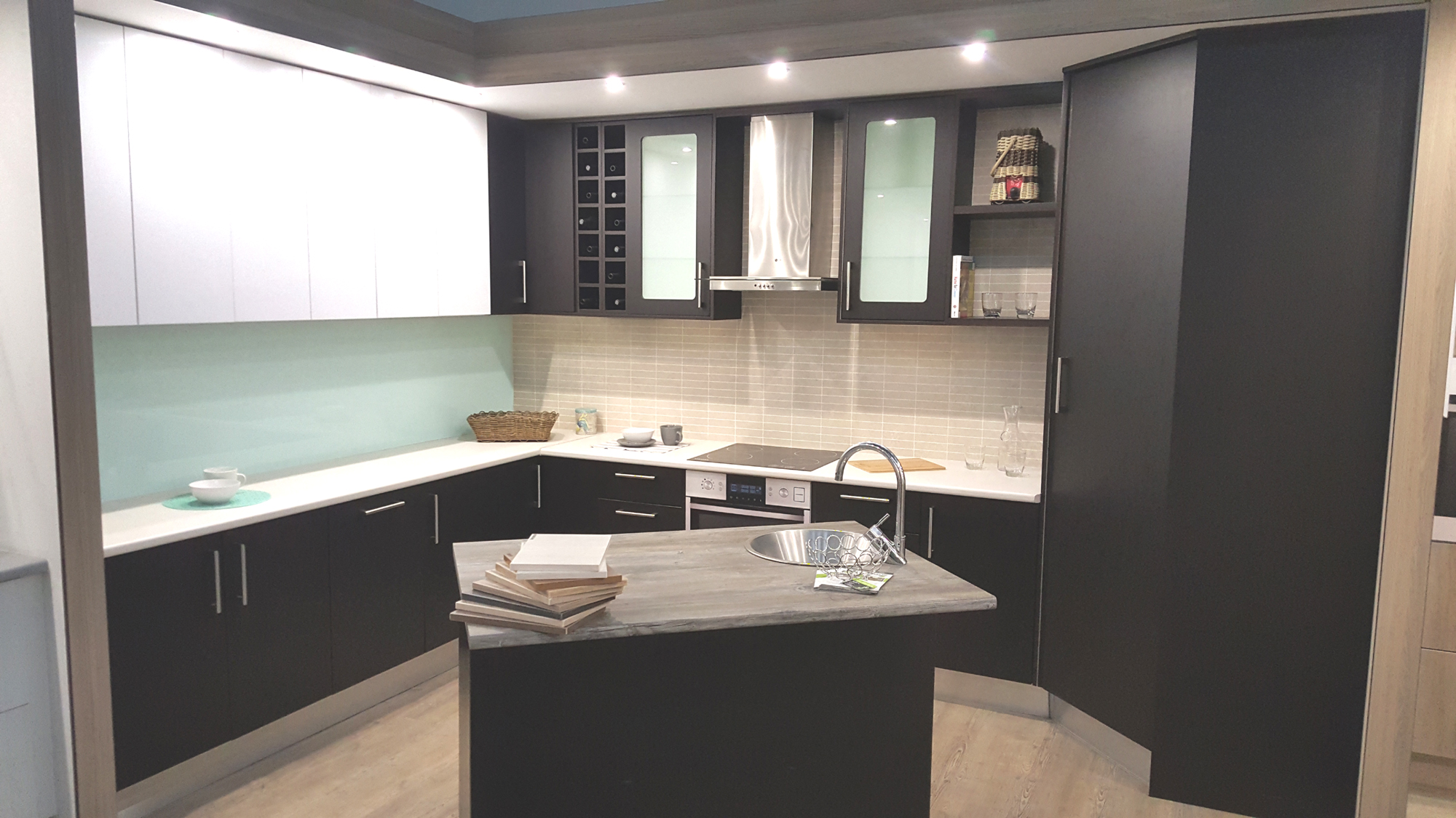Pvc wrap doors for Kitchen fittings cape town