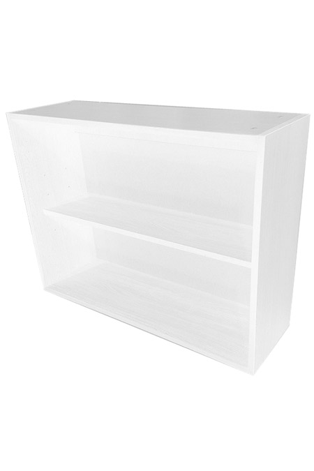Wall Filing or Shelf Unit in White