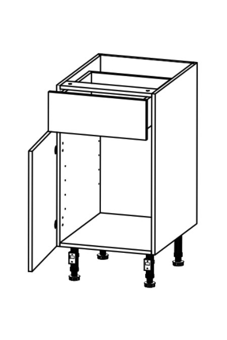 Kitchen Cupboard with 1 Drawer
